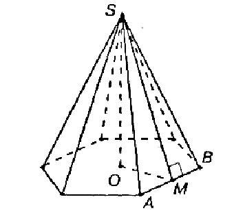 боковое основание пирамиды